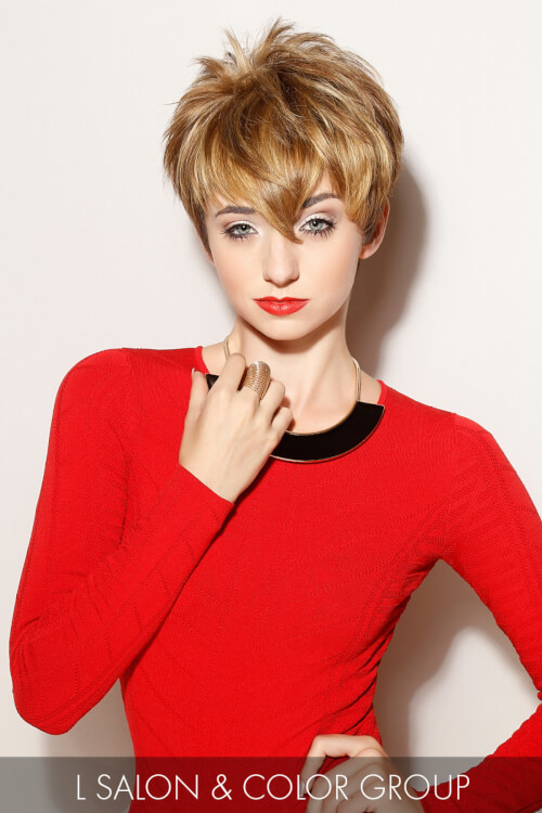 Shaggy Pixie Haircut for the New Year
