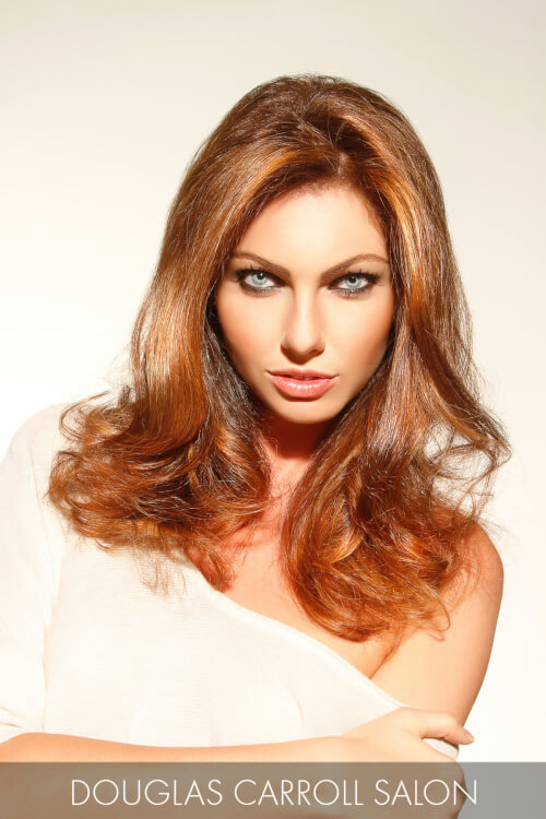 Bronze Hair Color for Spring with Copper
