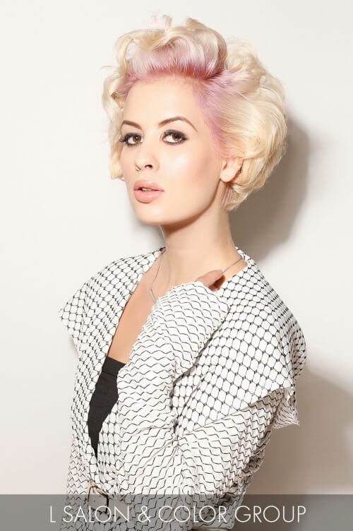 Vintage Short Hairstyle for Fall