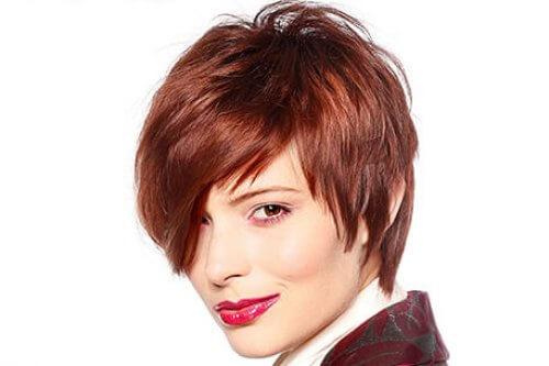 Rich Copper Hair Color with Mahogany Undertone