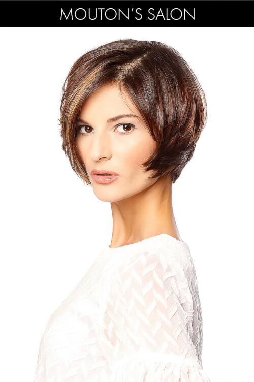 Sexy Tapered Bob Hairstyle for Spring