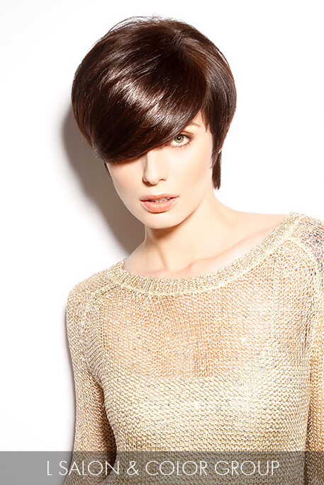 Rich Deep Brown Hair Color for Winter
