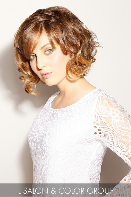 Curly Bob Hairstyle for Spring