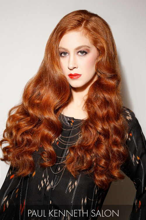 Copper Hair Color for Fall