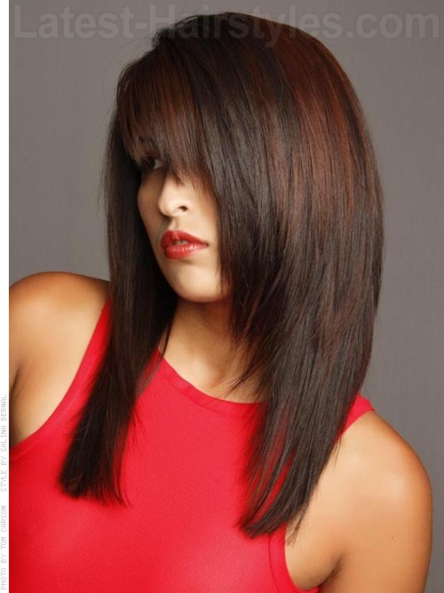 Hairstyles For Straight Hair With Bangs And Layers : Hot hair alert hairstyles for long straight