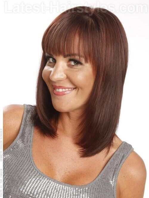 Superb The Top 30 Shoulder Length Hairstyles To Try Now Short Hairstyles Gunalazisus