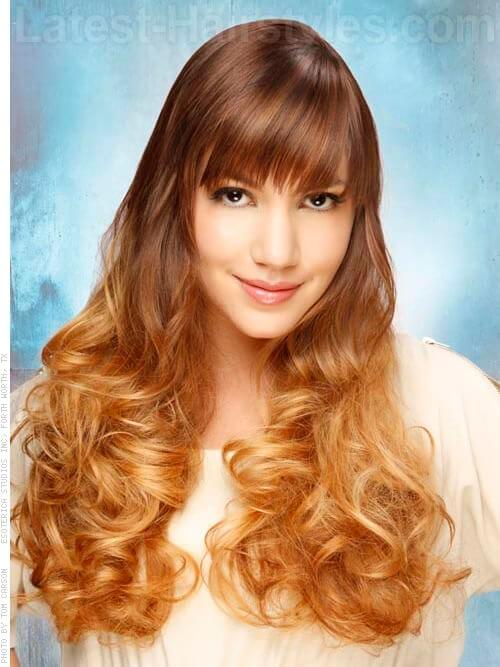 Honey Clouds Ombre Hair