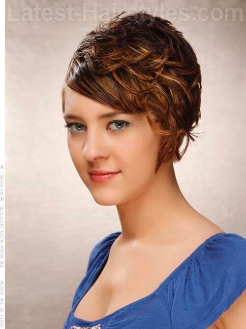 Short and Sassy Ombre Hair Color