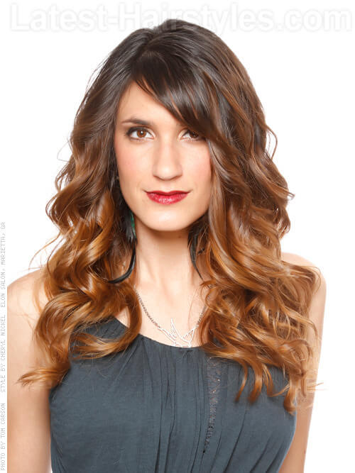 Soft Caramel Dream Ombre Hair Color