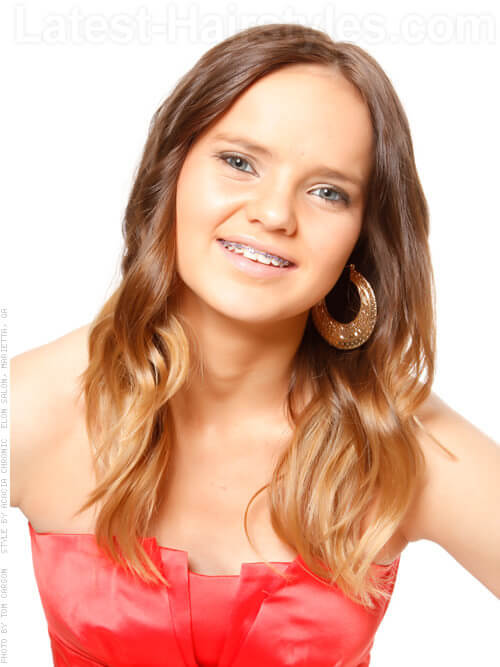 Teenaged Dream Ombre Hair Color
