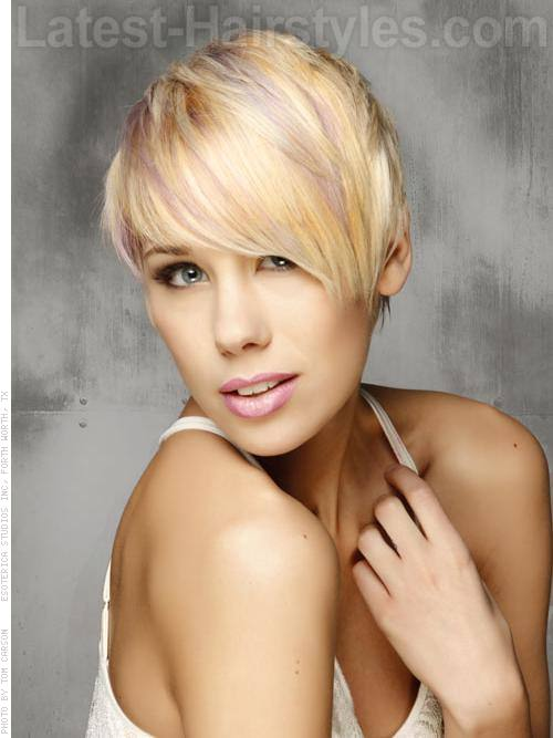 how to highlight a pixie cut