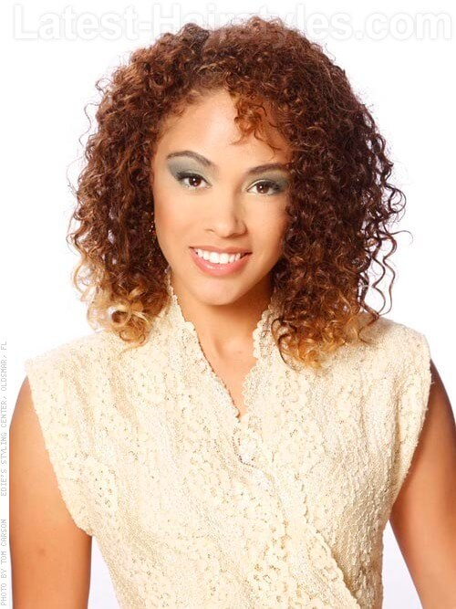 Peachy How To Get Stunning Medium Length Curly Hair For All Occasions Hairstyles For Women Draintrainus