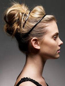 formal buns headband