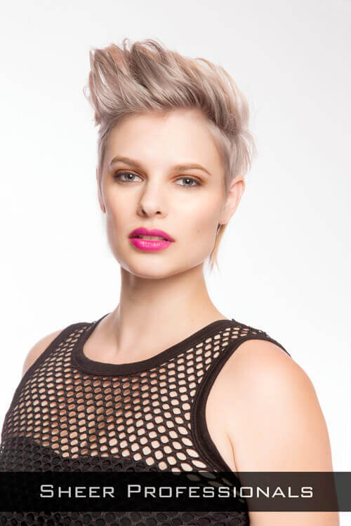 Short Edgy Layered Hairstyle