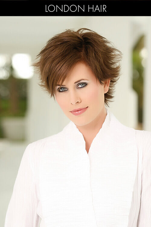 Short Layered Hairstyle with Flip