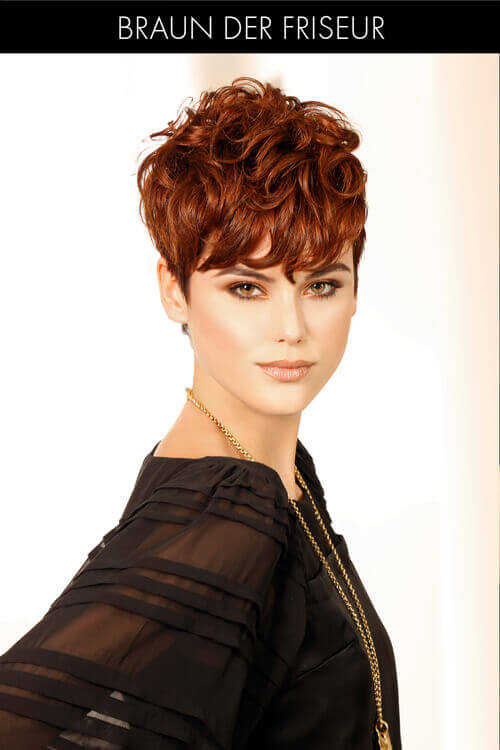 Short Layered Hairstyle with Texture