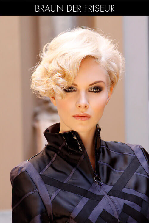 Sophisticated Short Layered Hairstyle