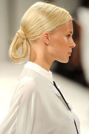 new york fashion week hair