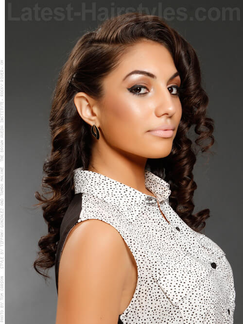tapered hairstyles for natural hair : Sweet 15 Hairstyles For Long Hair A totally sweet hairstyle.