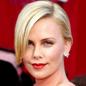 charlize one-sided hair