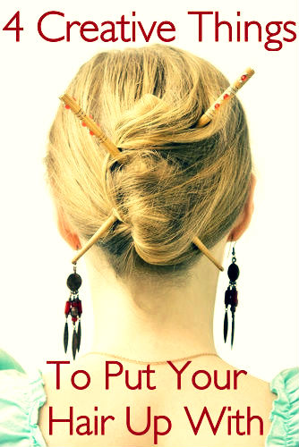 things to put your hair up with