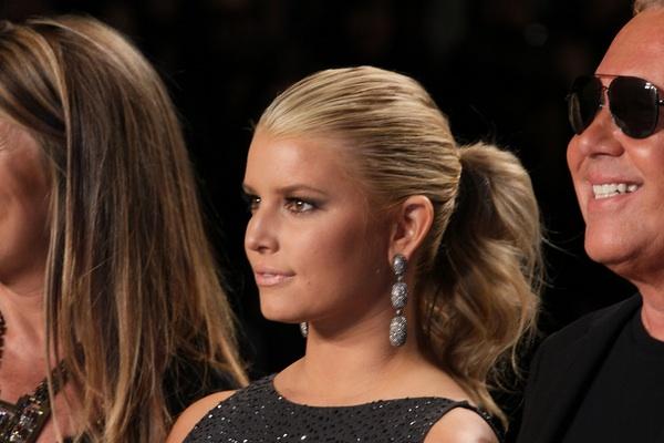 Jessica's ponytail