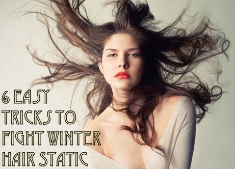 winter hair static