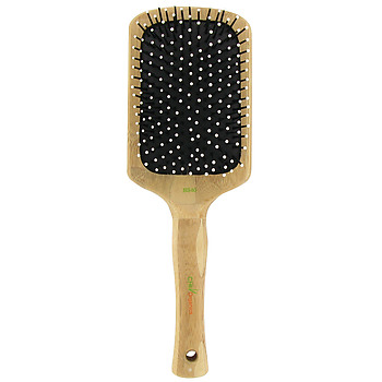 an eco-friendly paddle brush