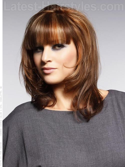 Strange 10 Medium Hairstyles For Square Faces You39Ll Love Short Hairstyles Gunalazisus