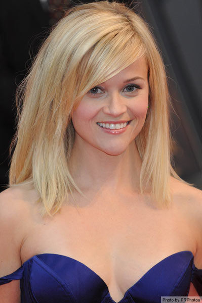 Reese Witherspoon's medium length hairstyle