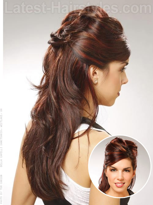 Sensational Half Up Half Down Prom Hairstyles Pictures And How To39S Hairstyle Inspiration Daily Dogsangcom