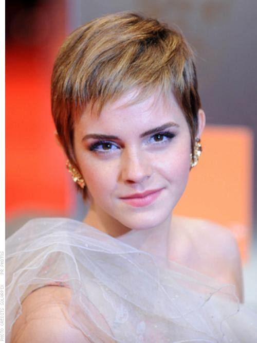 Prom Romance Forward Swept Pixie Short Hairstyle