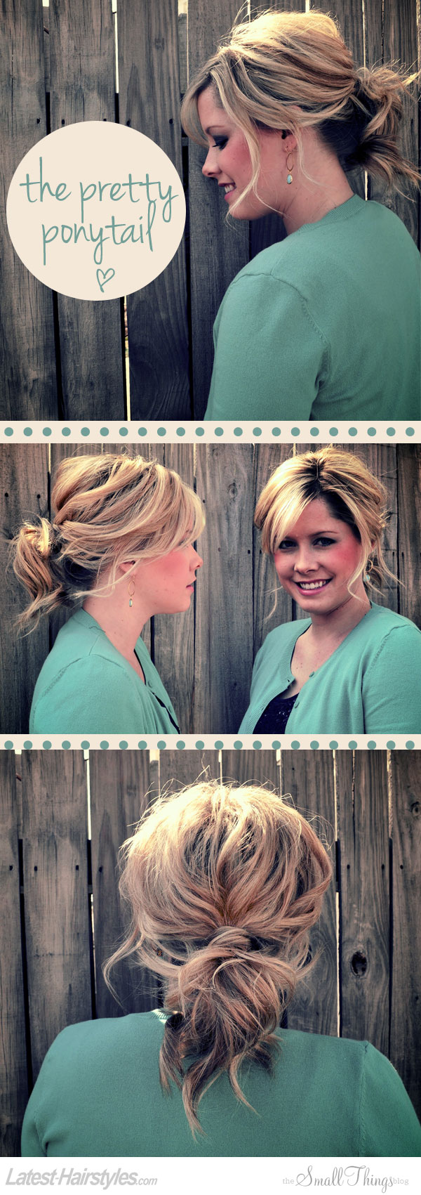 The Pretty Ponytail Tutorial