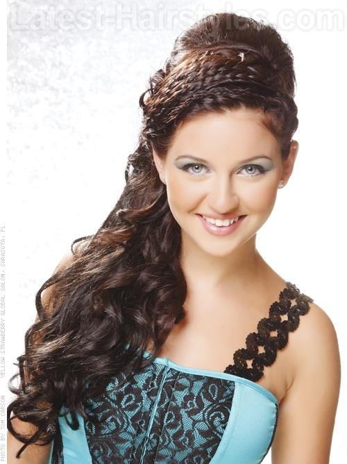 Half Up Half Down Prom Hairstyles Pictures And How Tos