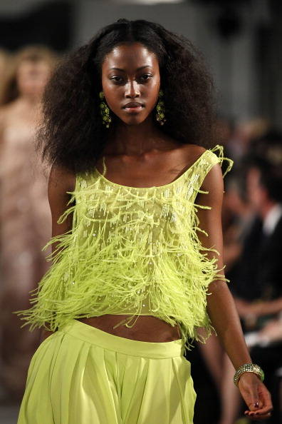 spring runway hair trends