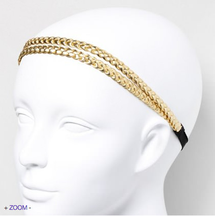grecian braided headwrap
