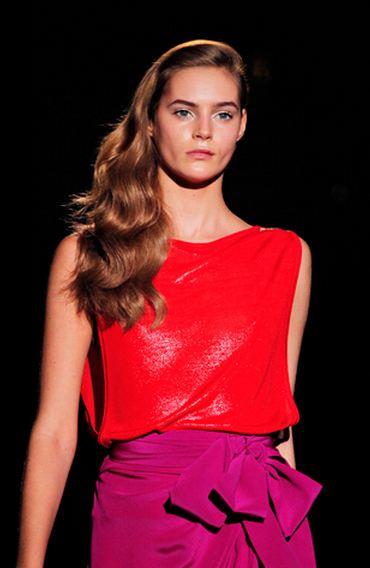 colorblock runway trends