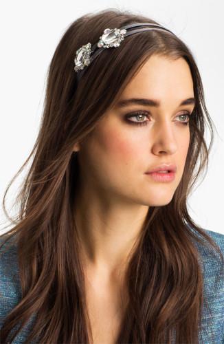 jeweled headband for prom