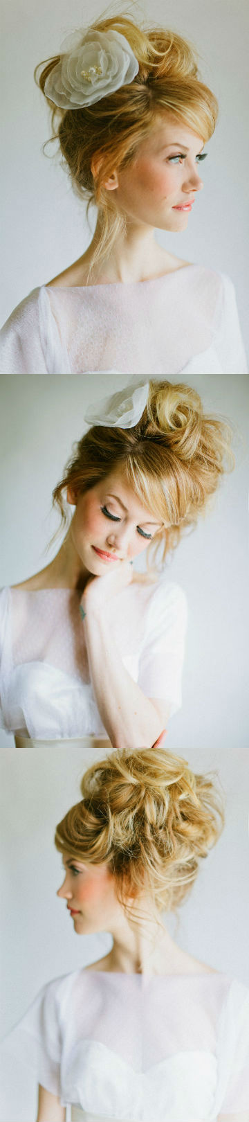 Airy wedding hairstyle trends
