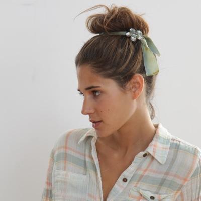 ballerina bun hair accesory