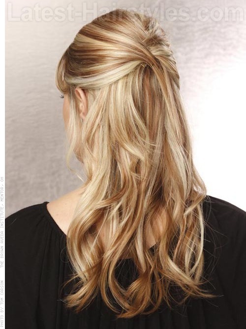 20 Gorgeous Formal Half Updos Youll Fall In Love With