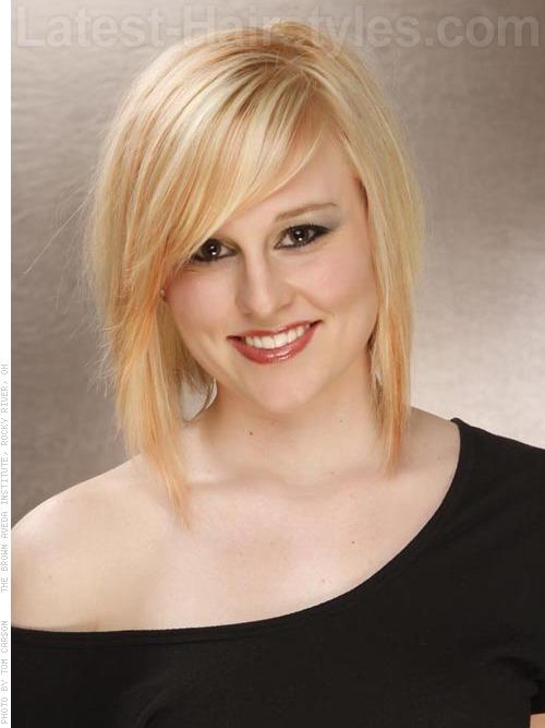 golden hair and makeup
