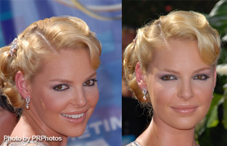 perfect heigl updos