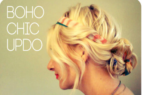 The Summer-Perfect Boho Chic Updo You Have To Try