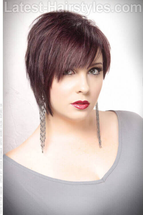 Short Hair Styles With Bangs 29 Short Choppy Haircuts That Are Popular For 2018