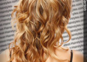 Dark champagne color blonde hair