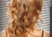 Dark champagne color blonde hair