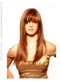 Wondrous 20 Hairstyles That39Ll Make You Want Long Hair With Bangs Short Hairstyles Gunalazisus