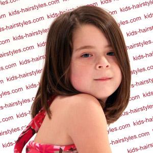 girls hairstyles for medium length hair