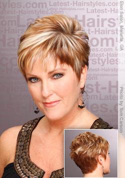 Short Hairstyles for Women Over 50 - Pictures, How-to's and Tips